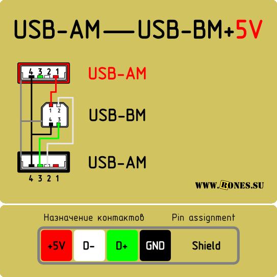 USB+доп.питание