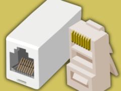 Распиновка коннектора 8P8C «RJ45». Рекомендации по выбору кабеля и коннекторов