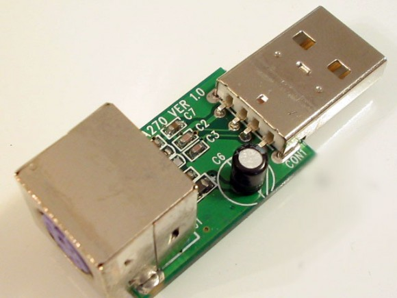 Преобразователь с PS/2 на USB