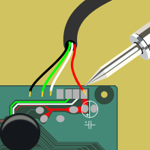 Ремонт мыши или клавиатуры при обрыве шнура