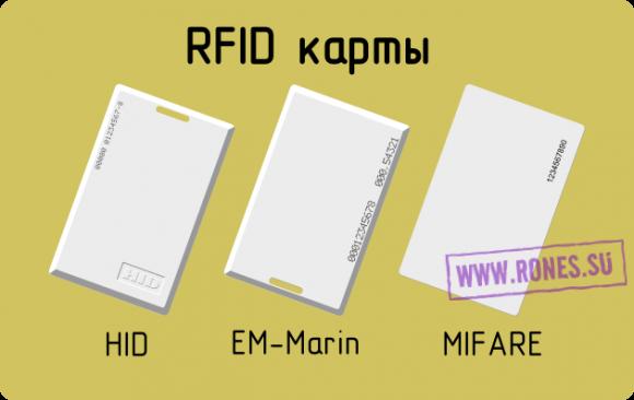 Форматы rfid-карт