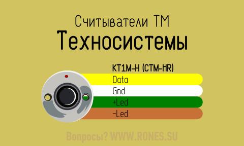 Подключить считыватель ТМ Техносистемы