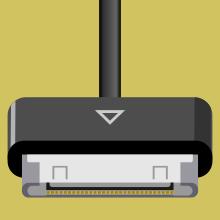 Распиновка штекера Samsung Galaxy Tab 30-pin