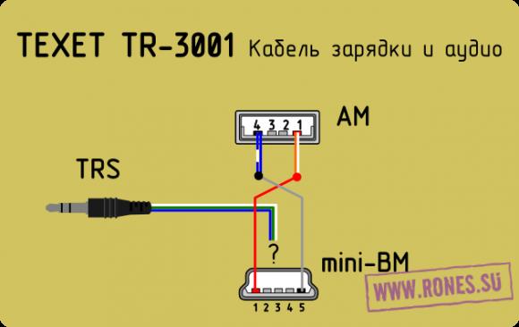 TEXET TR-3001