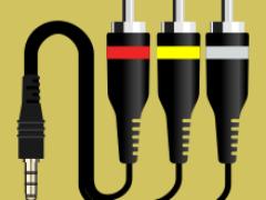Распиновки AV-кабеля 3×RCA—TRRS (с трёх «колокольчиков» на «джек»)