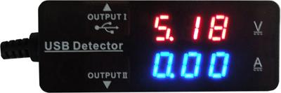 USB Detector UVT-003 — два цифровых табло