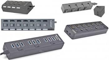 USB-концентраторы. Внешний вид.