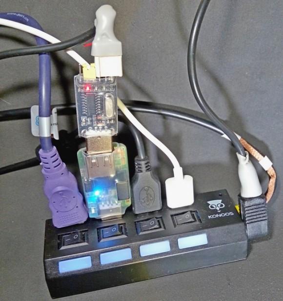 USB-Lab в сборе