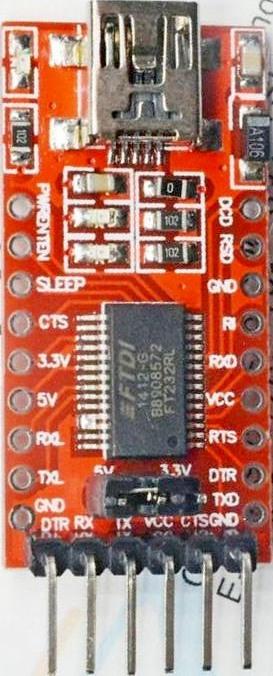 USB-изолятор FT232RL