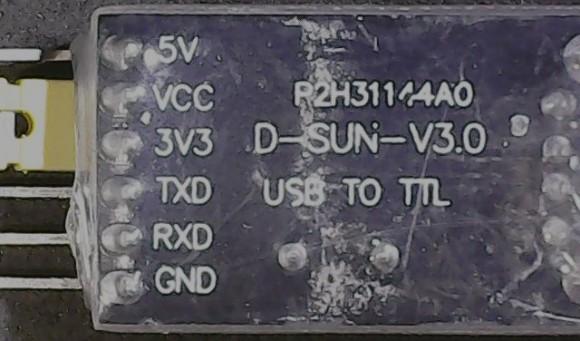 Модуль на основе CH340G