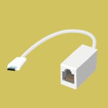 Переходник USB micro → LAN («RJ-45»)