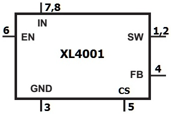 Регулятор XL4001
