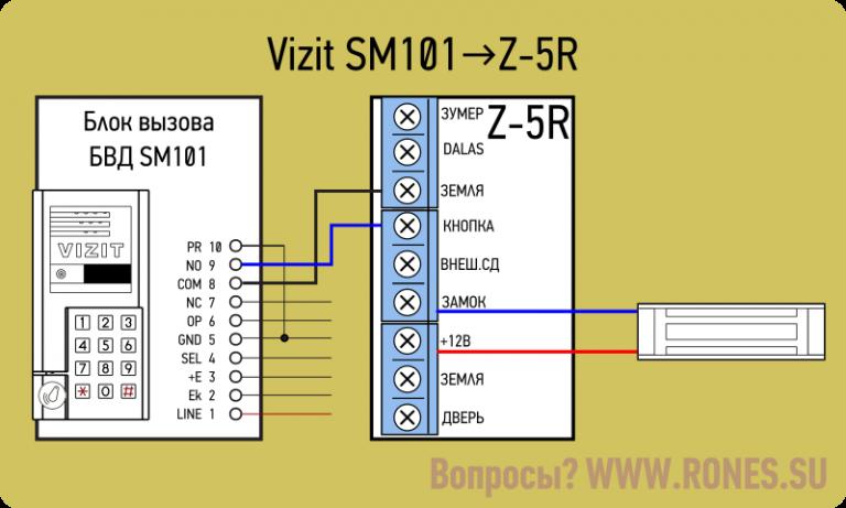 Схема подключения контроллера z5 программирование