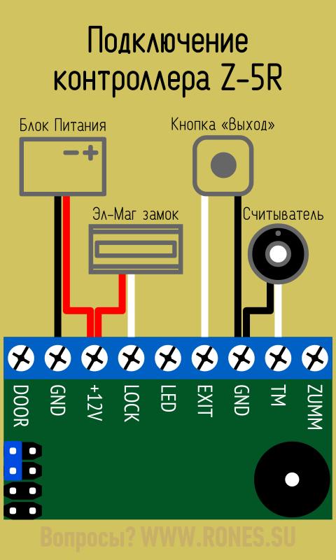 контроллер Zr-5 инструкция img-1