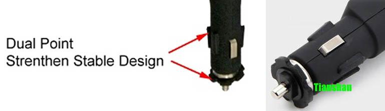 Конструкция АЗУ с двухточечной фиксацией