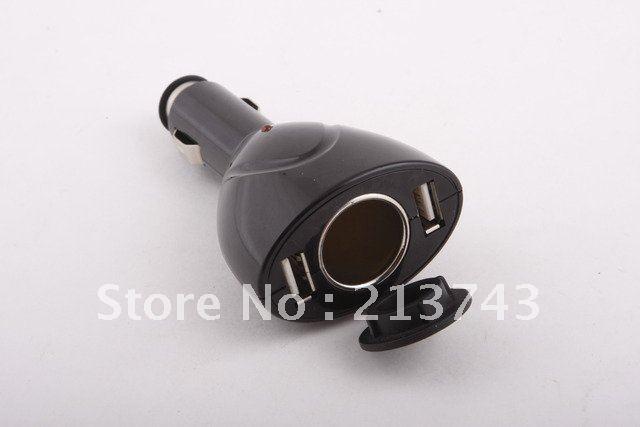 2-USB-Port-Car-Cigar-Cigarette-Socket-Charger-Adapter