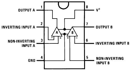 Цоколёвка LM358